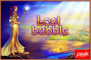 Screenshots of the Lost Bubble for Android tablet, phone.