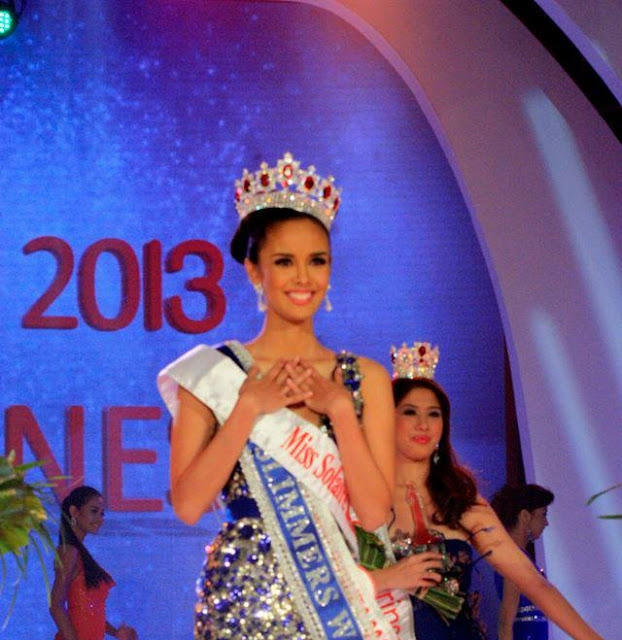 SASHES AND TIARAS..Miss World Philippines 2015: Evening