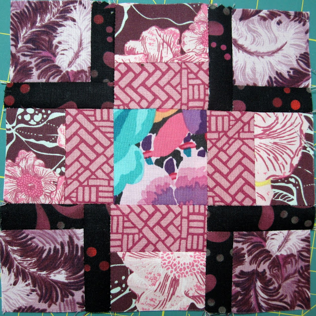 Tula Pink's City Sampler Sew Along Block 4