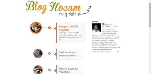 blogger tasarımı