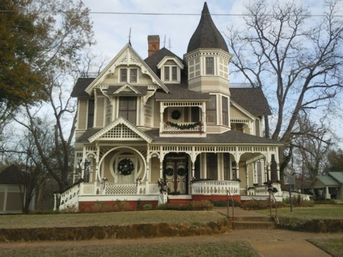 Victorian style home for Home architecture pictures