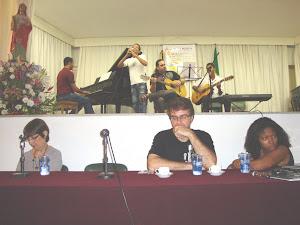 lustrações musicais  com  César Estrelado, Pedro Faria, Rodrigo Chianca  e  Joubert