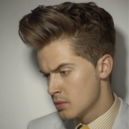 model rambut rockabilly keren