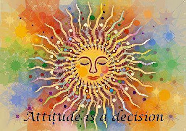 Attitude is a decision?  YES!