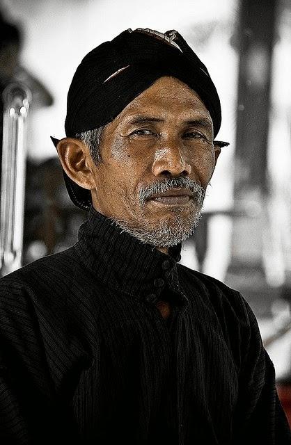 Javanese old man, Yogyakarta, Indonesia