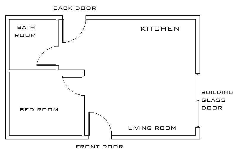 Mechanical Architectural Cad Drawings The Basic Floor Plan