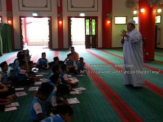 Dalam Masjid Cina, Melaka