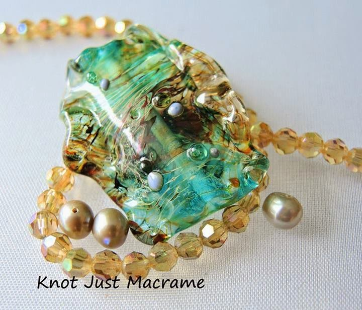 Lampwork by Marianna Boylan of Star Girl Jewelry