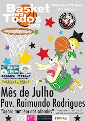 Basket para Todos 2012 - Cartaz