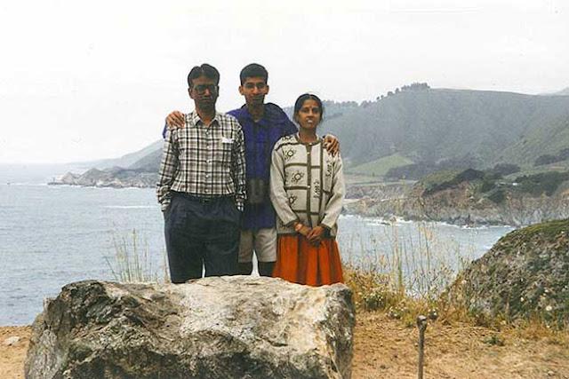 Sundar Pichai Family