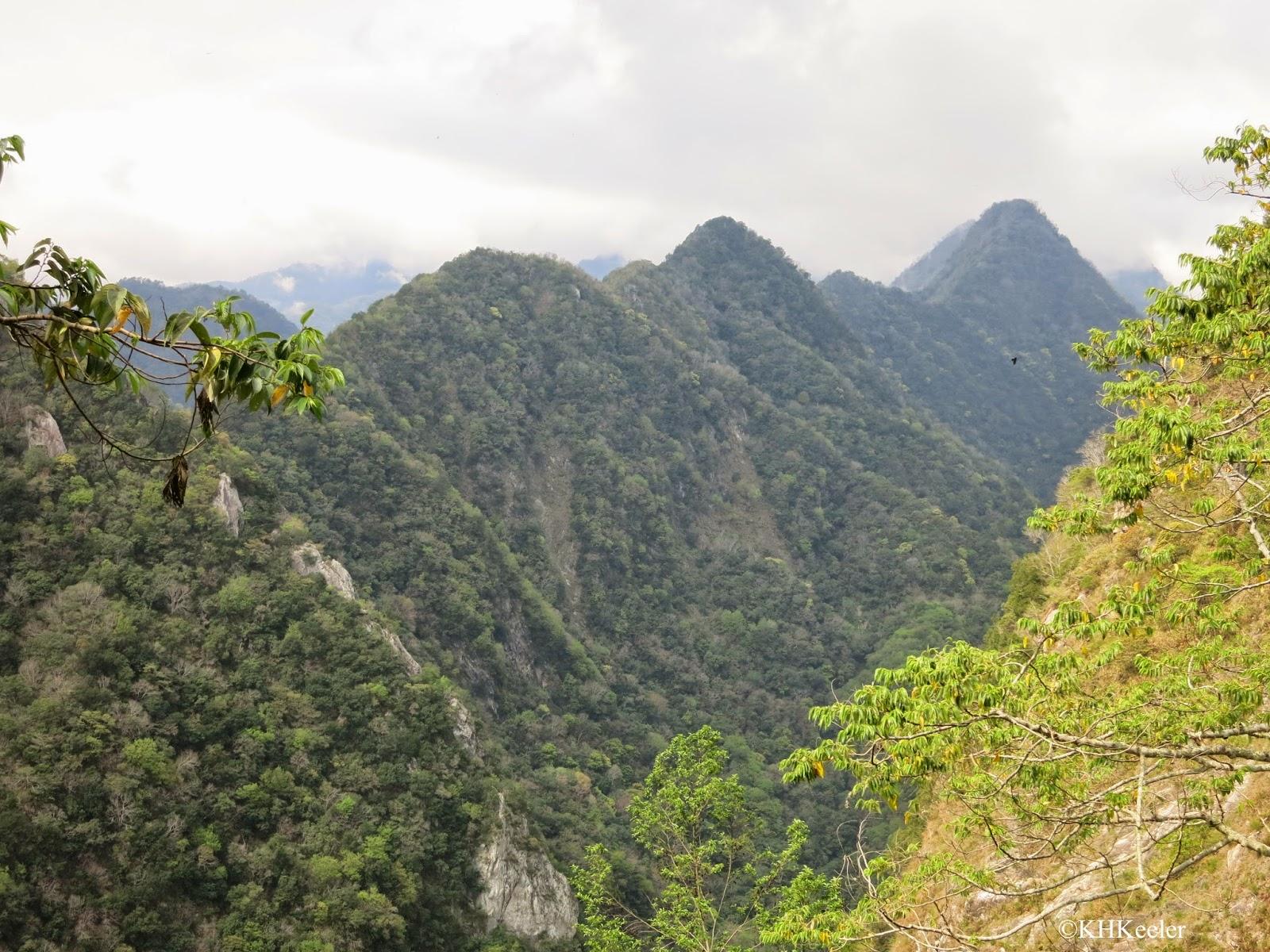 above Taroko Gorge, Taiwan