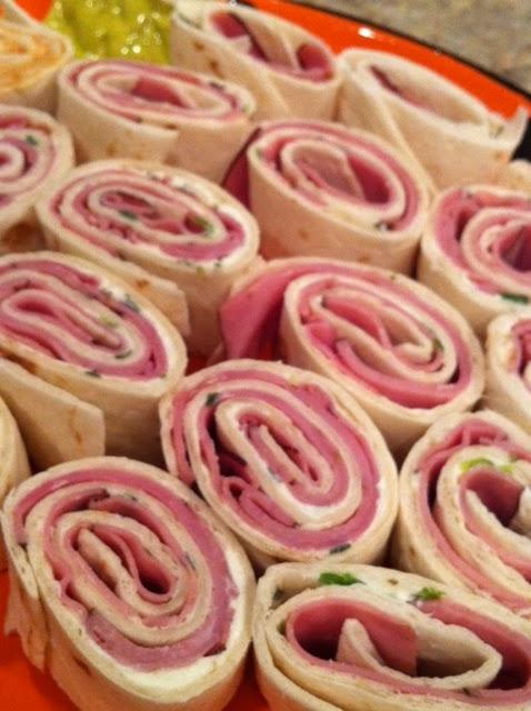 Anything Pink: Tortilla Roll-ups