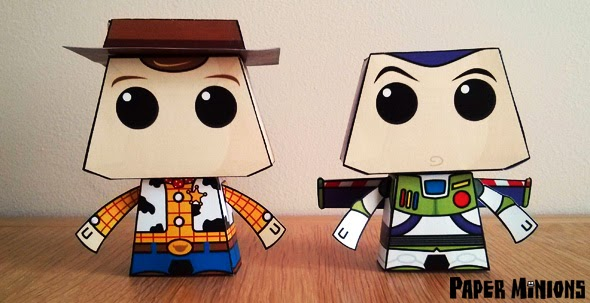 Paper Toy Toy Story