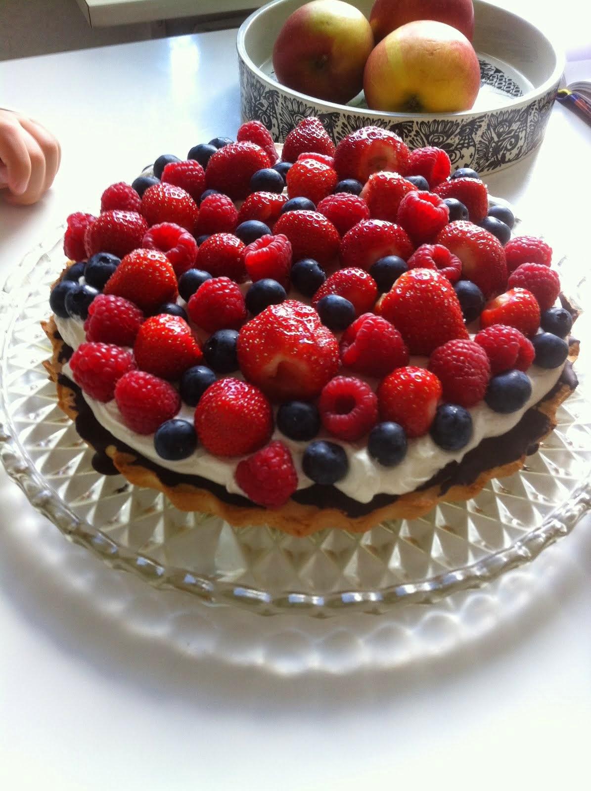 Frugt tærte
