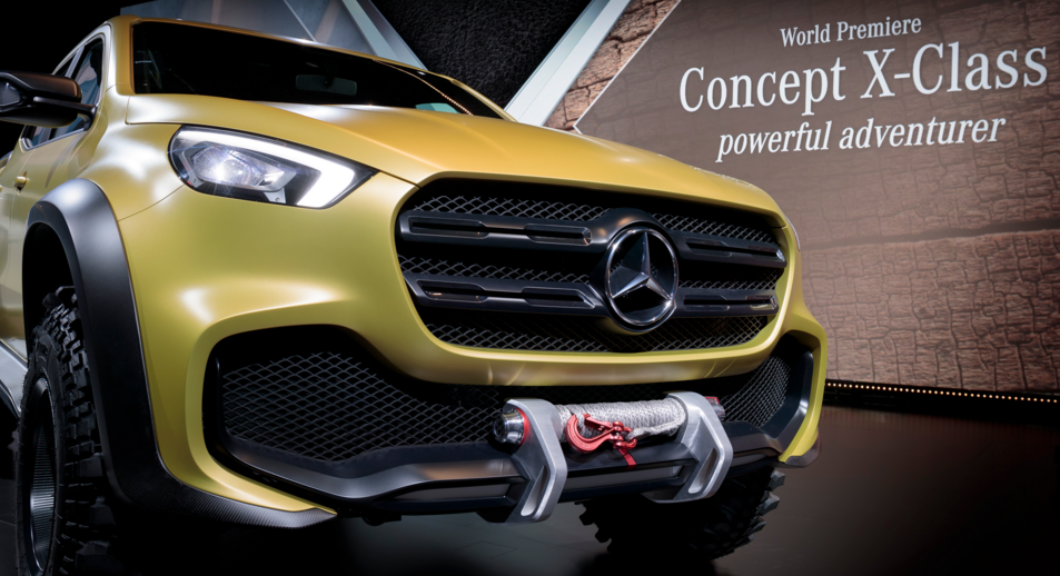2016 Mercedes Concept X-Class Pickup Truck Performance Specs Reviews ...