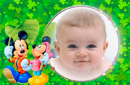 Fotomontajes Infantiles   Mickey Mouse Y Minnie