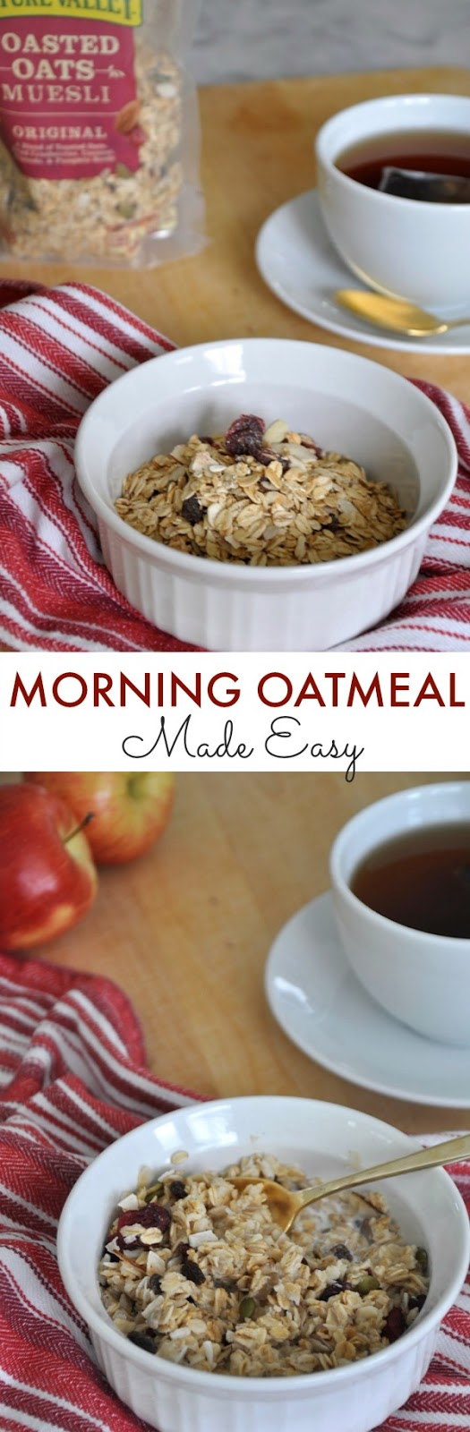 Quick & Easy Morning Oatmeal | Honey We're Home