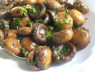 Herbed Marinated Mushrooms