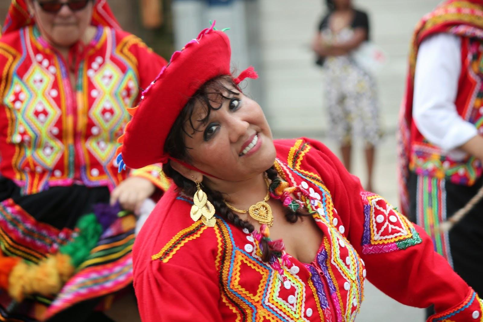 Parada peruana de Paterson New Jersey USA