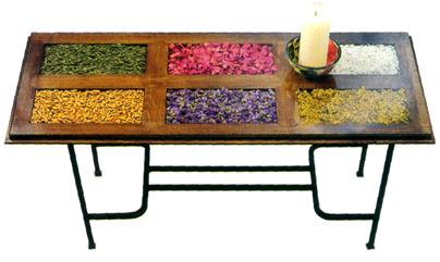 Rosarito brunch puertas recicladas en mesa for Puertas recicladas para decorar