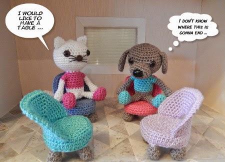 Amigurumi Doll Furniture : 2000 Free Amigurumi Patterns: Chair crochet pattern