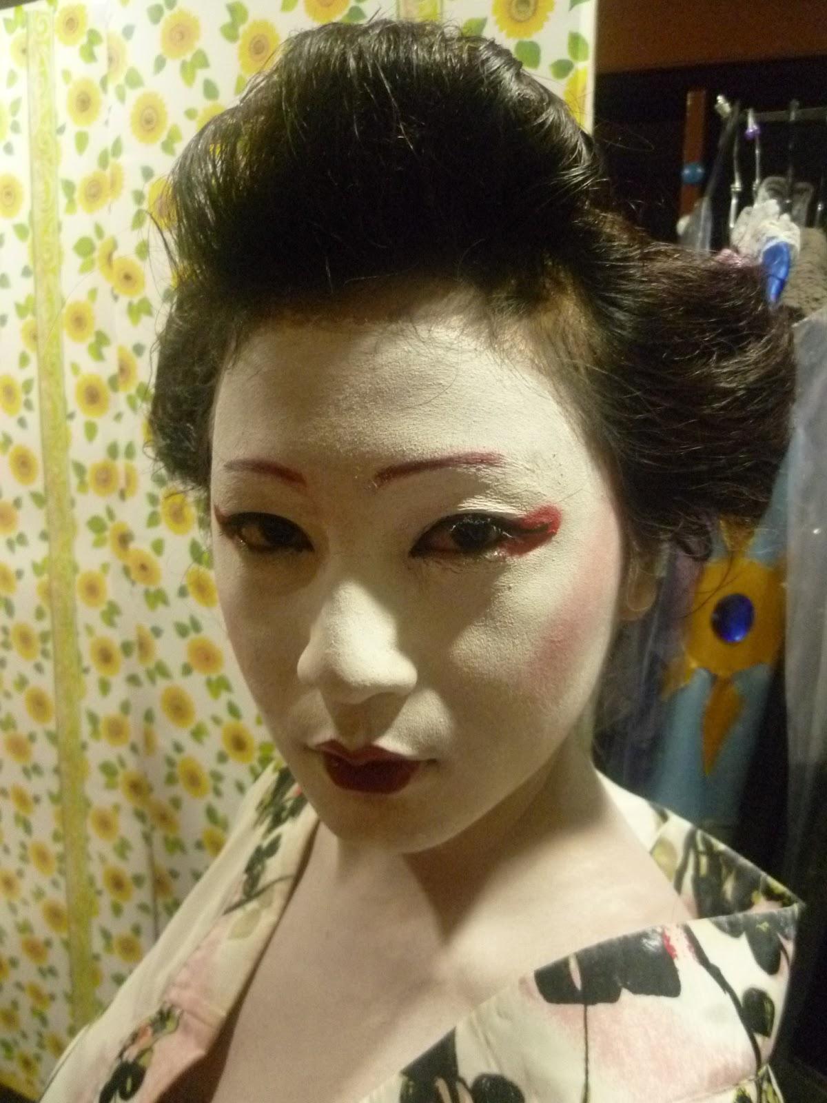 Преображение японок макияж фото