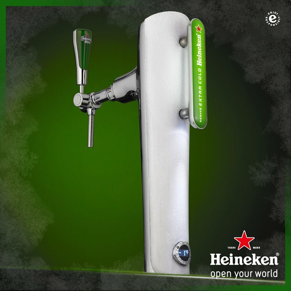 Heineken Extra Cold draught