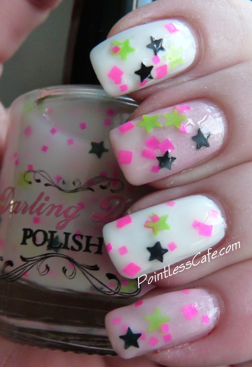 Darling Diva Polish - Lucky Star   Pointless Cafe