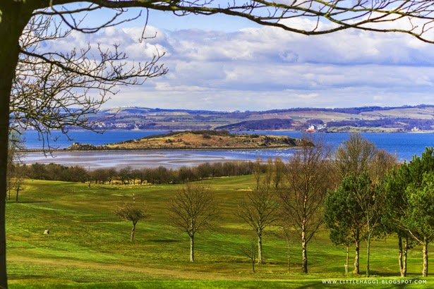 fotografía panorámica Isla de Cramond, Edimburgo