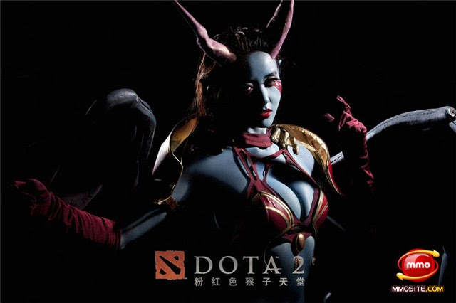 queen of pain cosplay ti4 - photo #27