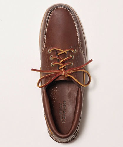 L.L Bean Signature Marshall Point Boat shoe
