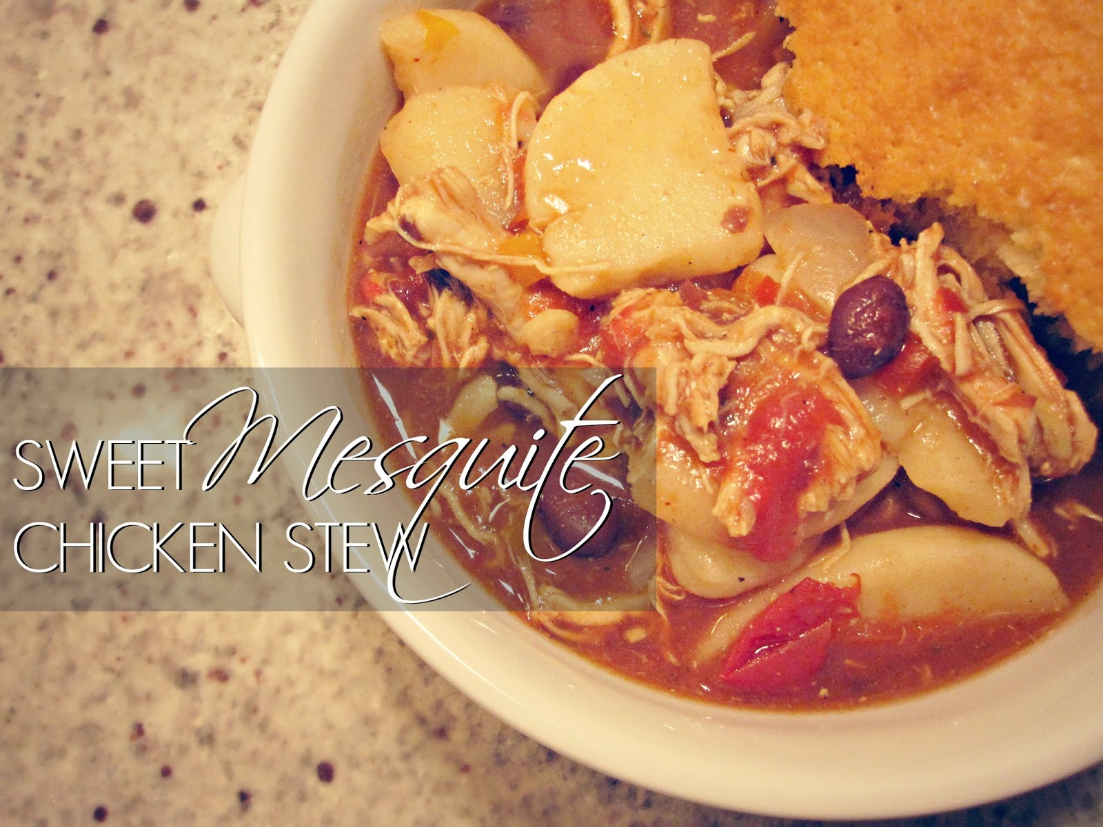 Sweet Mesquite Chicken Stew