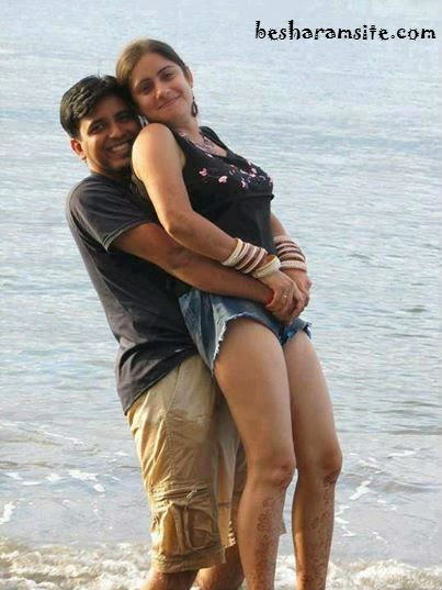 Desi lovers at goa making love in car hot vid