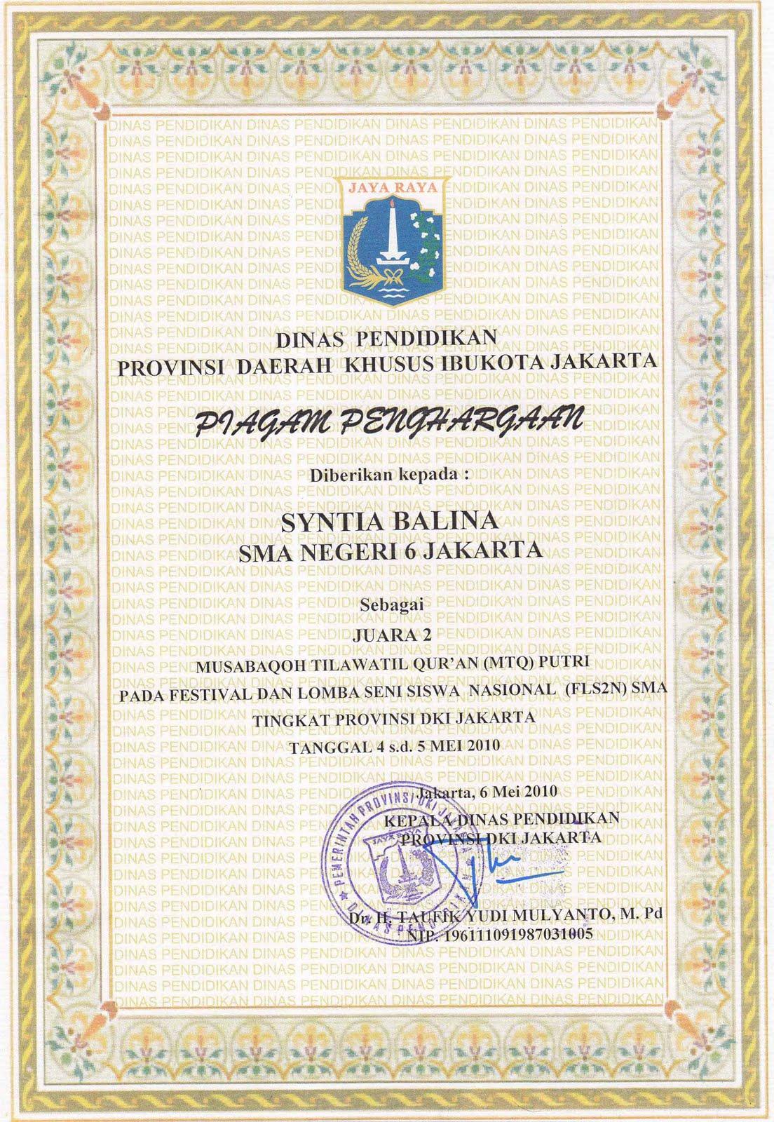 Flsn Festifal Lomba Seni Siswa Nasional Dki Jakarta Juara
