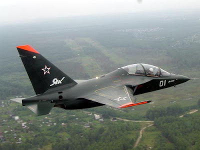 Yak-130 aircraft trainer
