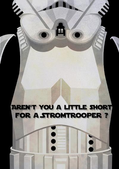 Star Wars Minimalista - Stormtrooper