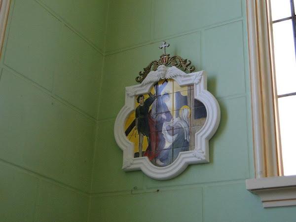 Via Sacra Azulejo pintado - Igreja São José - Piracicaba