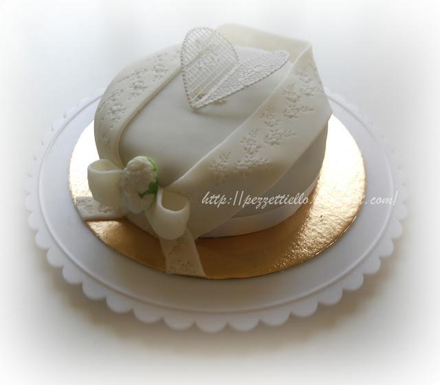 (PDZ-SAP) Torta elegante con cameo
