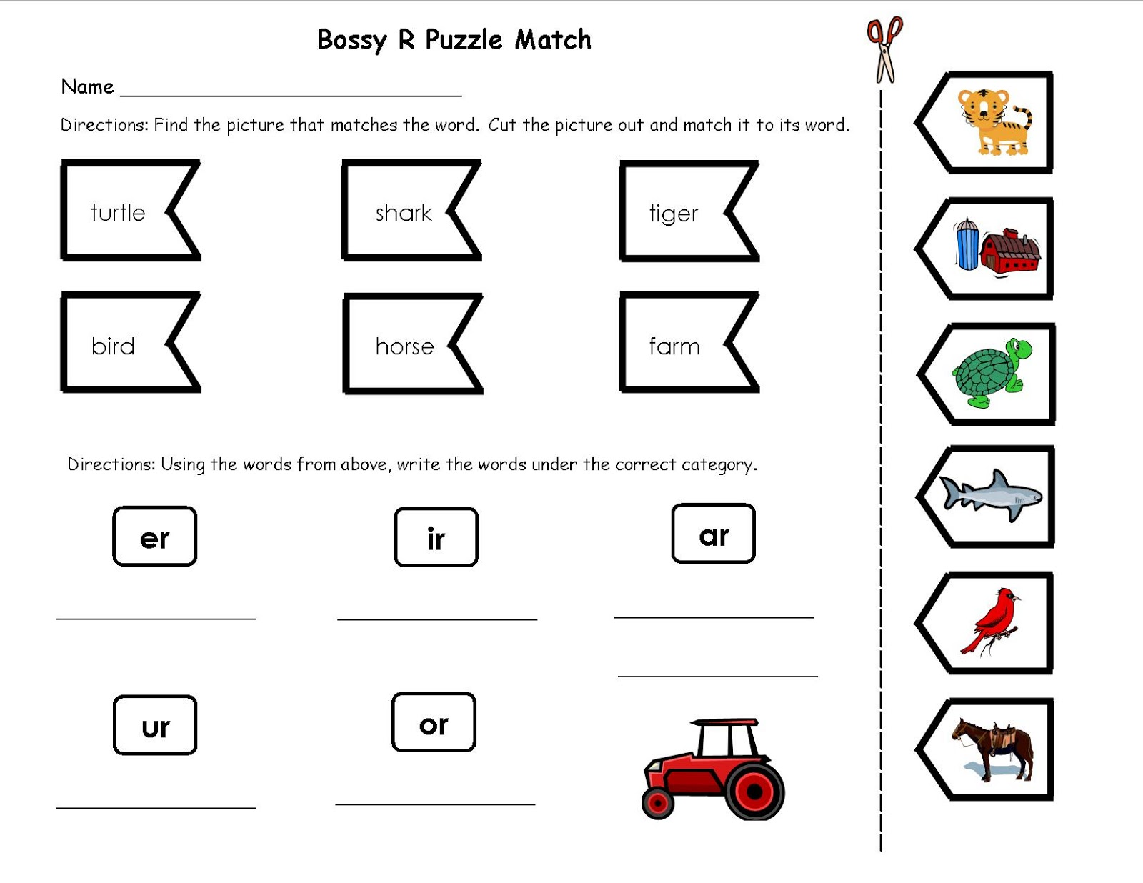 Worksheets Bossy R Worksheets teachers r us bossy activities activities