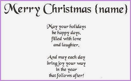 Beautiful Short Christmas Poems For Family