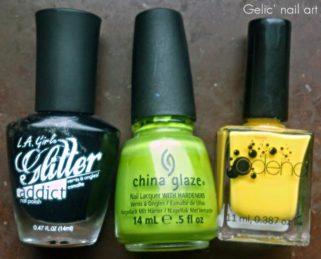 Gelic\' nail art: November 2014