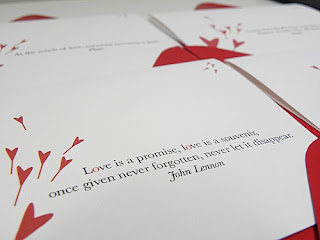 Love is a promise Quote and Saying