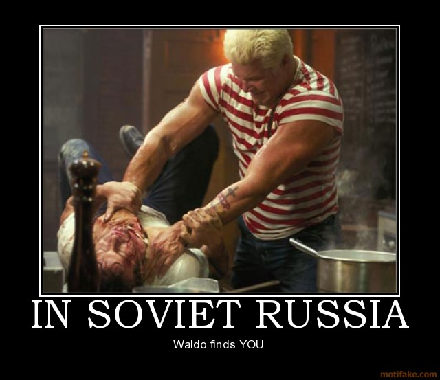 In soviet russia waldo soviet russia finds you punisher kevi