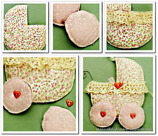 Como hacer Souvenirs infantiles Carritos de Bebés. Manualidades.