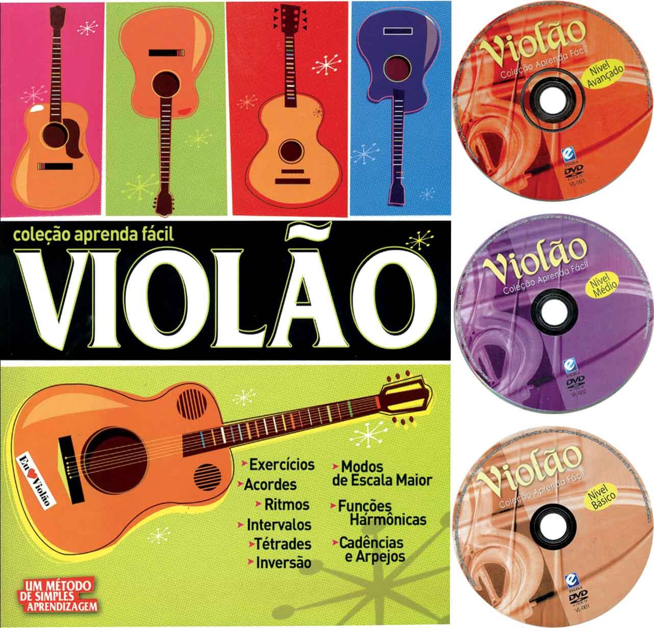 Coleção Aprenda Fácil: Violão Completo 444