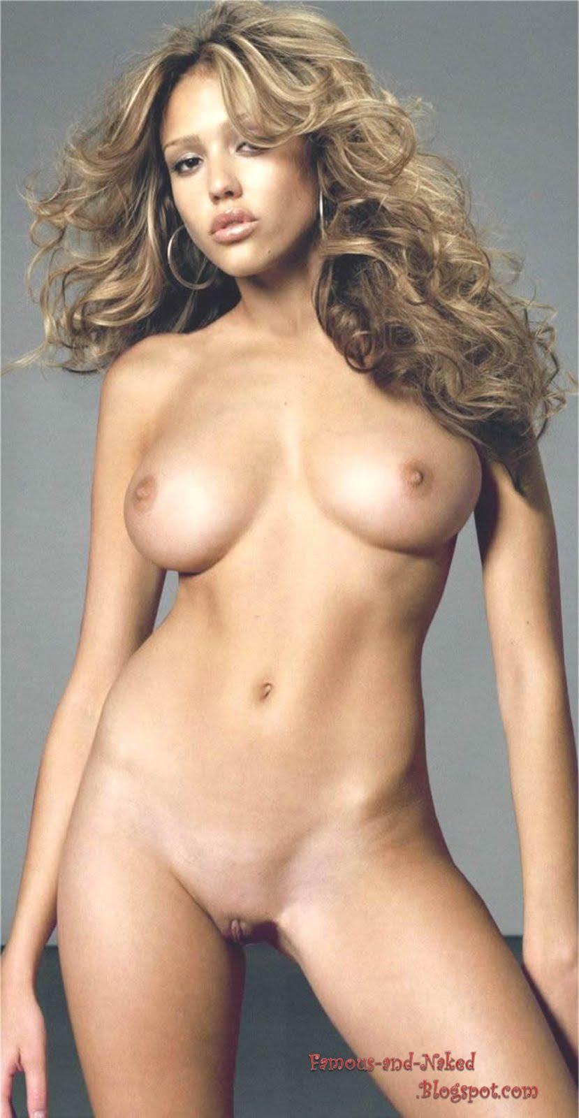 Jessica alba blonde and naked were
