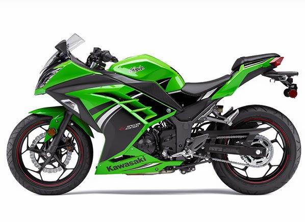 Foto Kawasaki Ninja 150 cc Motor Kawasaki Terbaru 2014 4-Tak