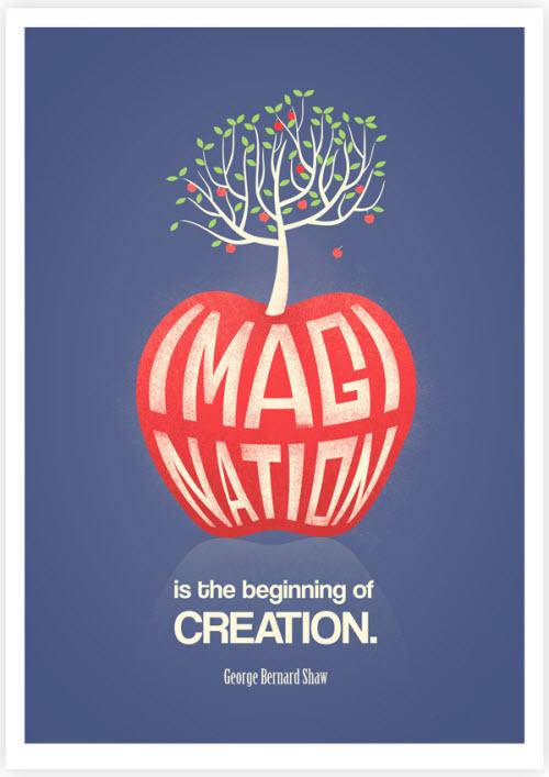 La imaginación es el comienzo de la creación.