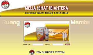 Login Web Member Melia Sehat Sejahtera