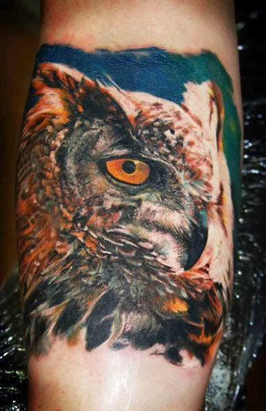 Best Owl Bird Tattoos